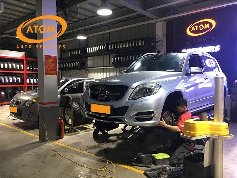 Để đảm bảo an toàn phanh ô tô cần được bảo dưỡng định kỳ