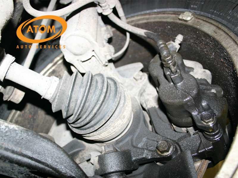 Hệ thống ống dẫn dầu phanh bị rò rỉ