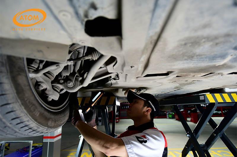 Sơn phủ gầm xe ô tô còn có tác dụng kéo dài tuổi thọ, giảm chi phí bảo dưỡng sửa chữa