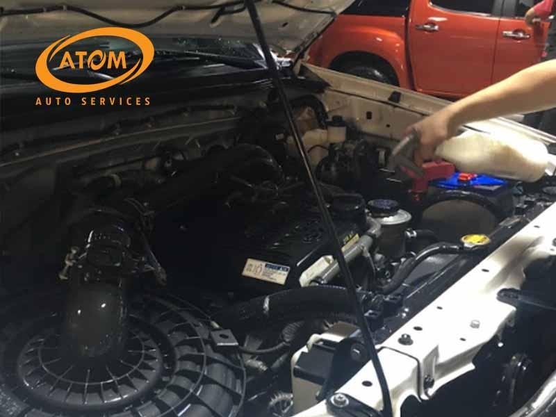 Atom Auto Services là địa chỉ vệ sinh khoang máy ô tô uy tín và chất lượng mà bạn không nên bỏ qua