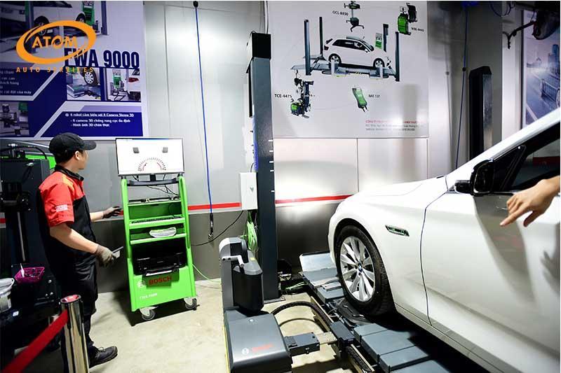 Kiểm tra hệ thống lốp để đảm bảo lốp xe luôn ở trạng thái an toàn