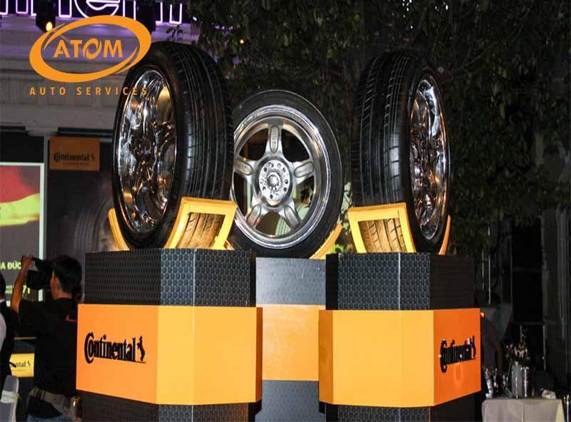 lốp xe ô tô của Continental có khả năng giảm thiểu tiếng ồn, tạo sự êm ái tối đa