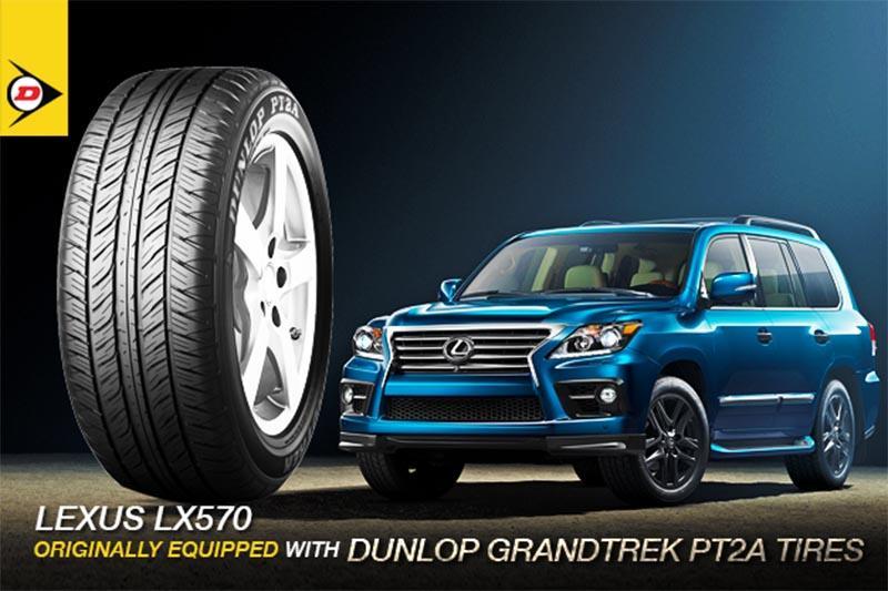 Lốp ô tô Dunlop được các dòng xe hạng sang tin dùng