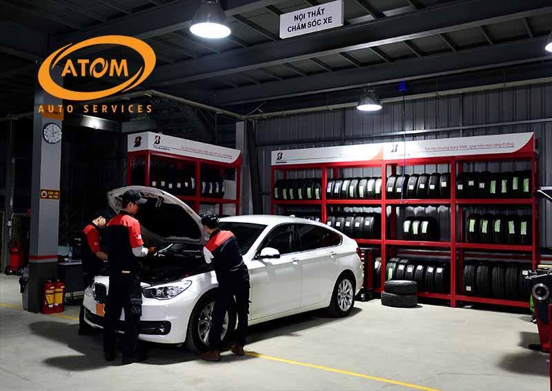 Kiểm tra và bảo dưỡng xe định kỳ tại Atom auto
