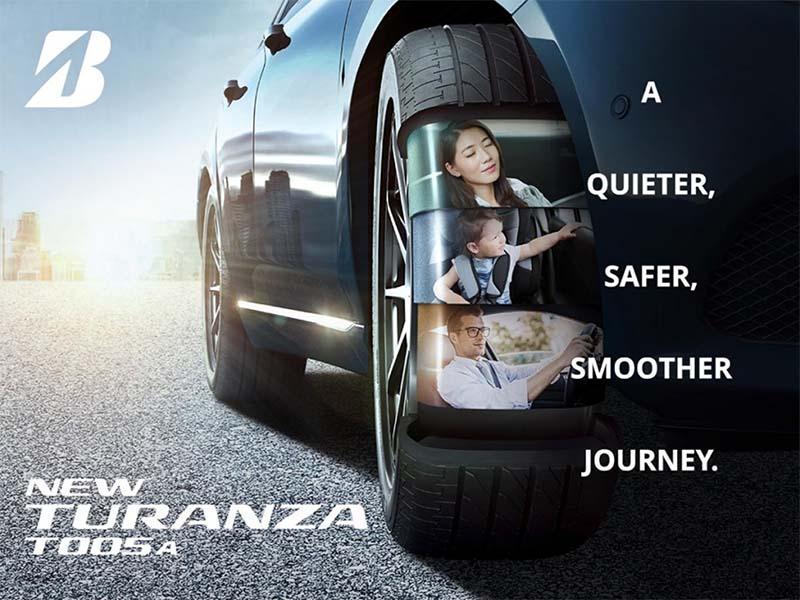 Lốp Bridgestone Turanza T005A lựa chọn hoàn hảo cho chếc xe của bạn