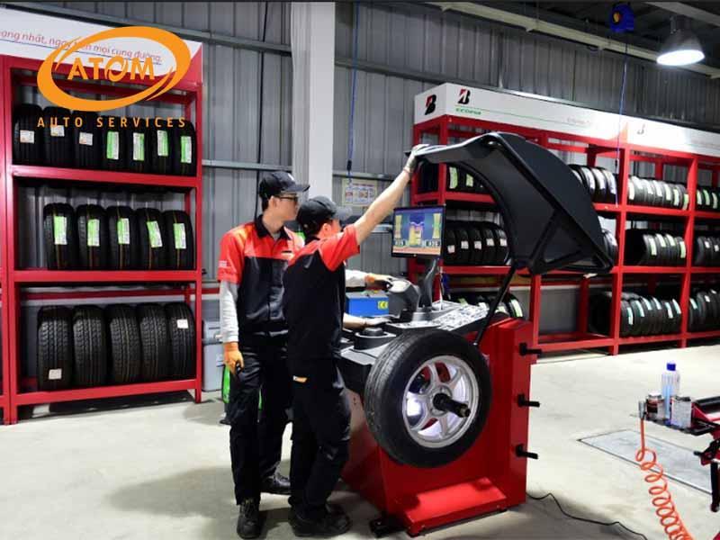 Cân bằng động là phương pháp bảo dưỡng lốp xe hiệu quả