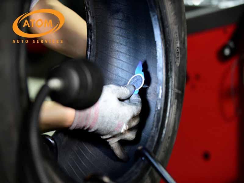 Vá nấm là cách vá lốp sử dụng các miếng vá hình cây nấm để làm kín hơi từ bên trong