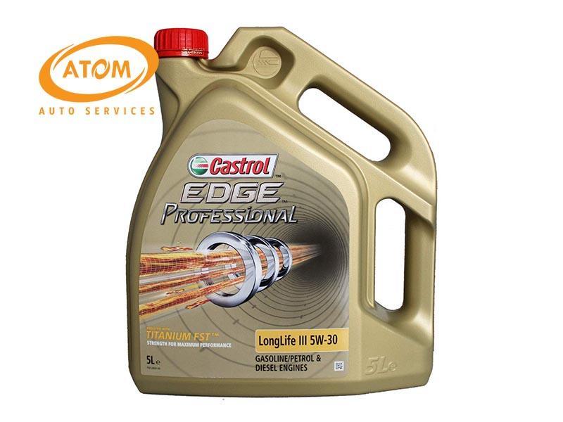 Dầu nhớt Castrol EDGE 5W30 - Bứt phá giới hạn hiệu suất động cơ.