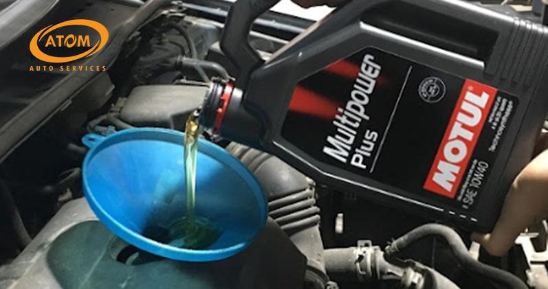 Nên thay dầu cho xe ô tô mới ngay khi xe vận hành được 1.000 - 2.000 km