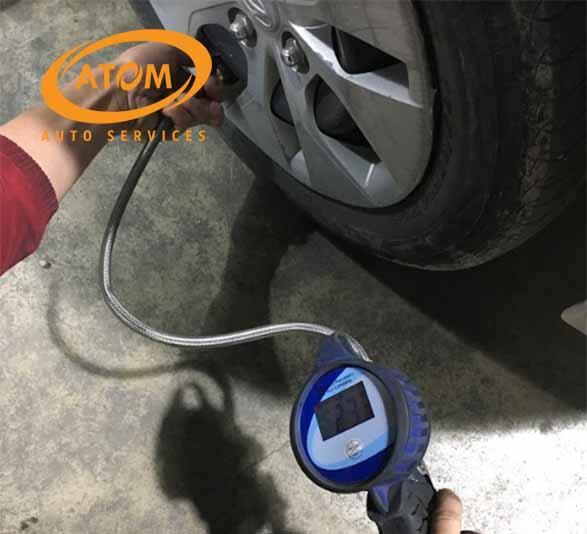 Thường xuyên kiểm tra áp suất lốp