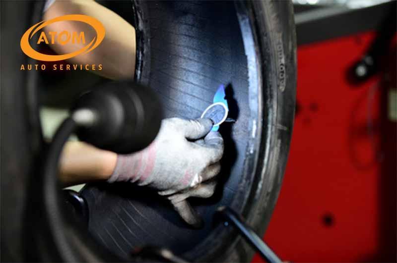 Vá lốp đúng cách cũng giúp giảm thiểu rủi ro khi vận hành