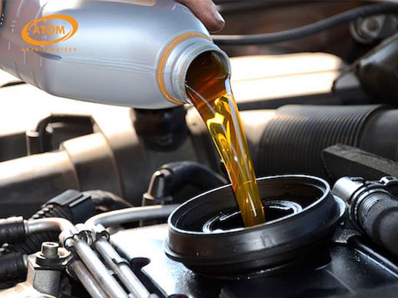 Châm dầu hộp số cho xe số tự động có que thăm dầu