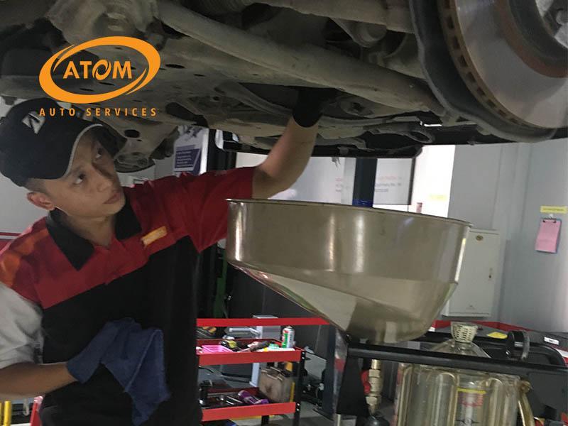 Thay dầu hộp số giúp xe hoạt động ổn định, trơn tru hơn