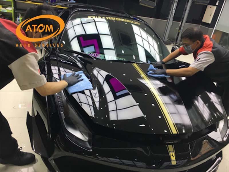 Bảo dưỡng sơn xe ô tô 6 BÍ KÍP giúp xe luôn như mới