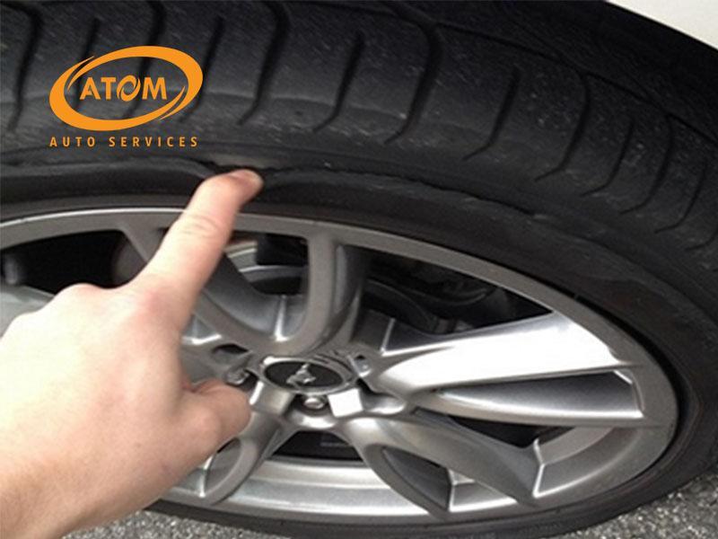 Lốp non cũng là nguyên nhân hàng đầu khiến lốp ô tô bị rách thành lốp
