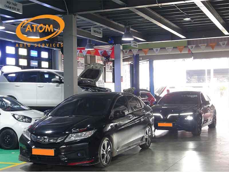 Nên thay lốp ô tô tại các trung tâm có nhiều khách hàng lựa chọn
