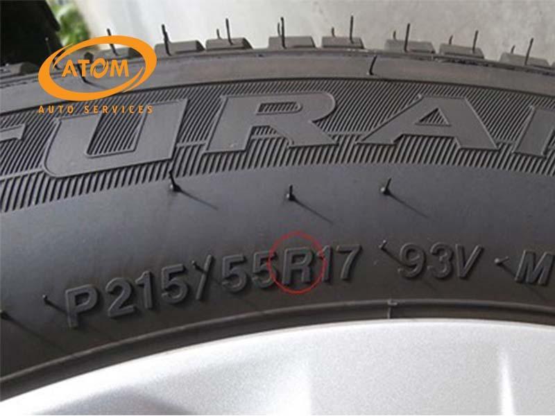Thông số cấu trúc của lốp