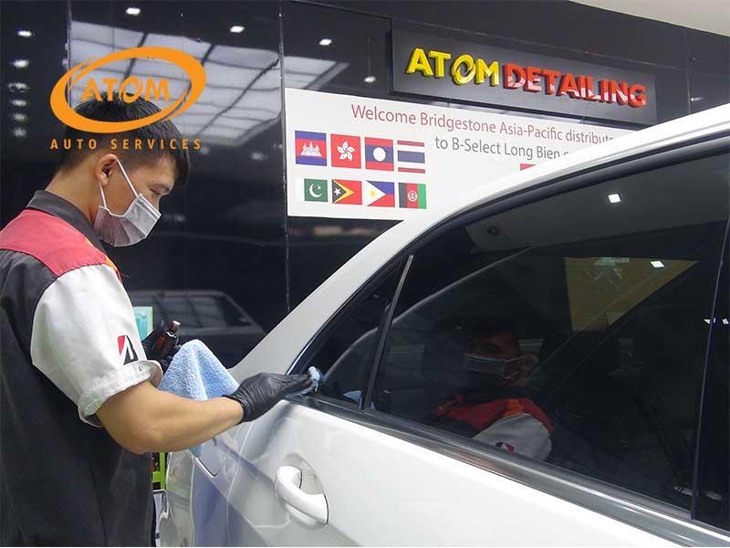 Atom Auto Services là một trong những trung tâm phủ Ceramic uy tín tại Hà Nội