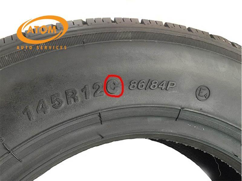 Chỉ số nhận biết loại lốp cho các dòng xe