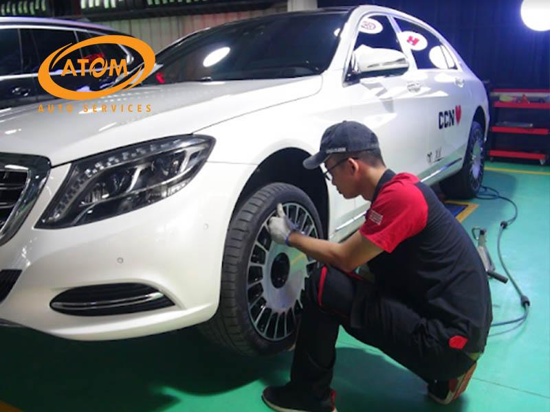 Atom Auto Services - địa chỉ thay lốp ô tô Hà Nội uy tín, chất lượng