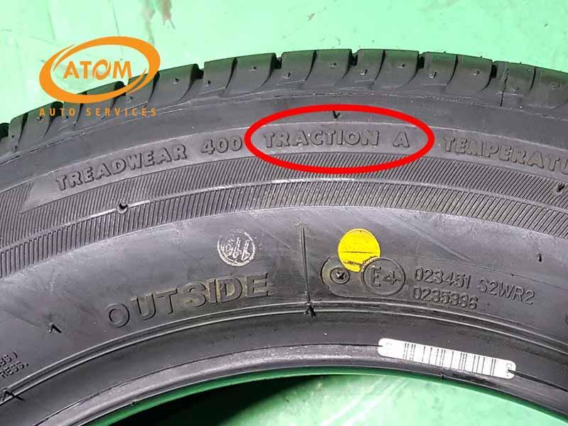 Thông số khả năng bám đường của lốp