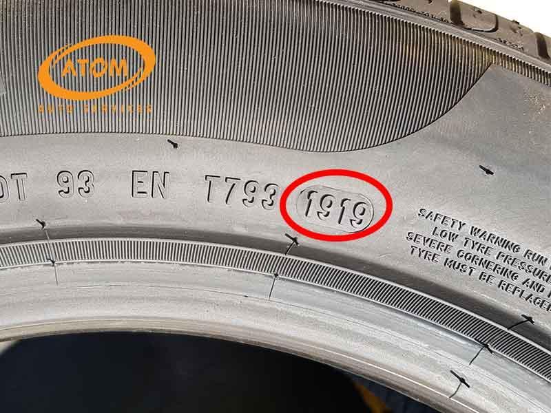 Thông số thời gian sản xuất của lốp