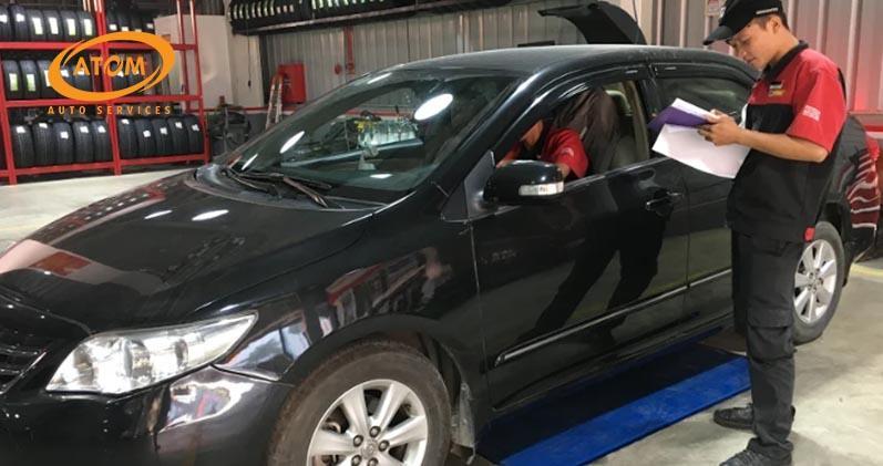Quy trình & lịch bảo dưỡng xe ô tô Toyota TIÊU CHUẨN từ A-Z