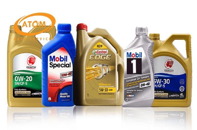 Thay đúng loại dầu nhớt dành cho xe