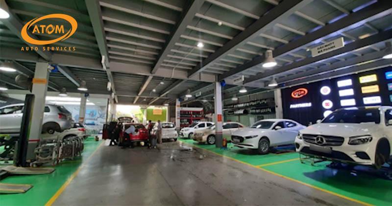 Bảo dưỡng ô tô tại các trung tâm uy tín để đảm bảo an toàn tối đa
