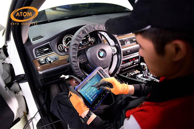 Bảo dưỡng ô tô mốc 5000km tại Atom Auto Services