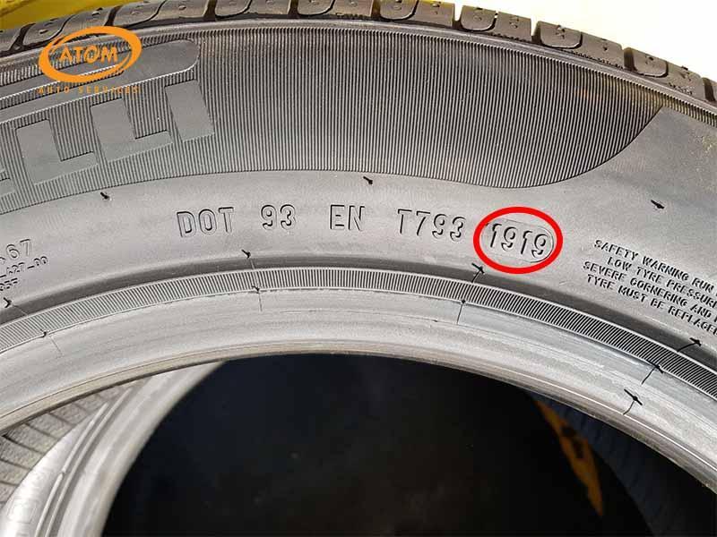 Tuổi thọ tối đa của nhiều loại lốp ô tô hiện nay là khoảng 7 năm