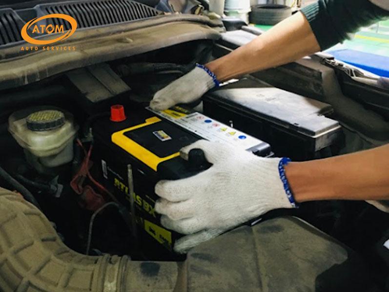Atom Auto Services - cứu hộ ắc quy ô tô nhanh chóng và tin cậy
