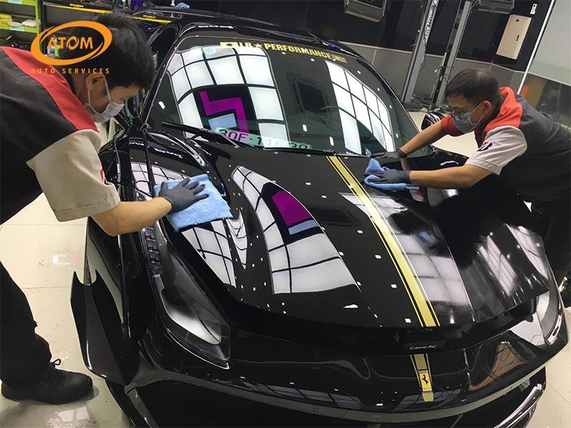 Atom Auto Services trung tam phu ceramic uy tin tai Ha Noi