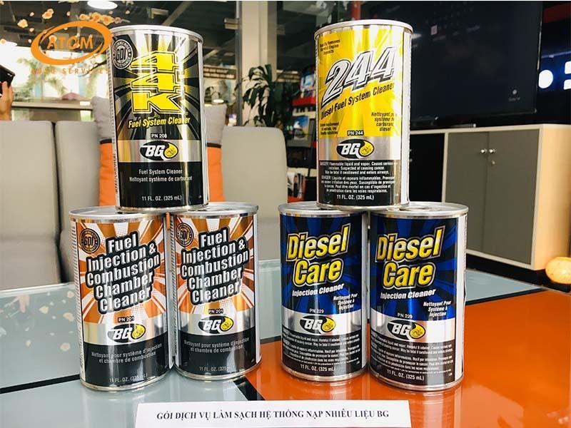 BG-Automotive dung dịch làm sạch kim phun và buồng đốt chuyên dụng