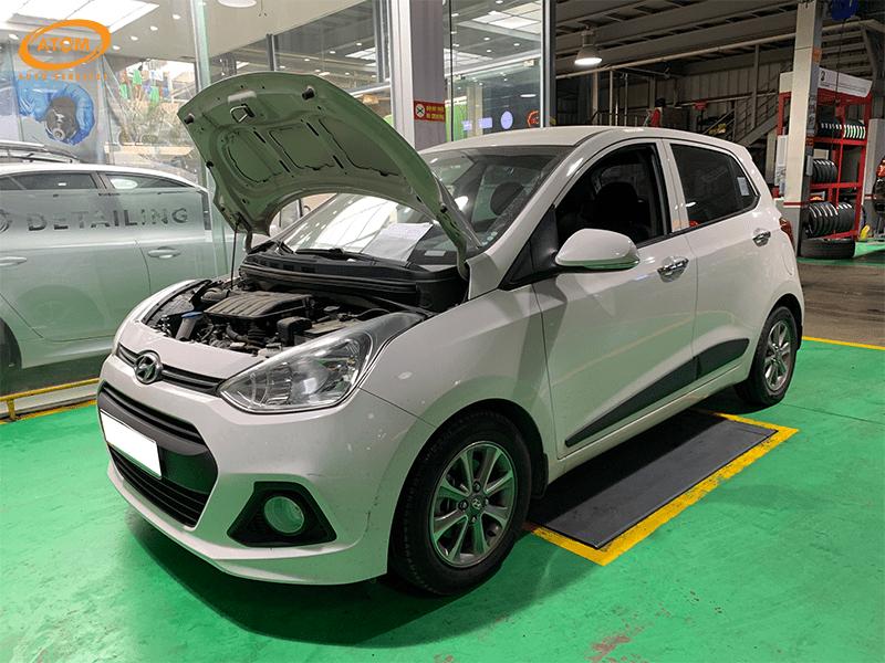 Hyundai I10 được bảo dưỡng định kỳ cấp 10.000km