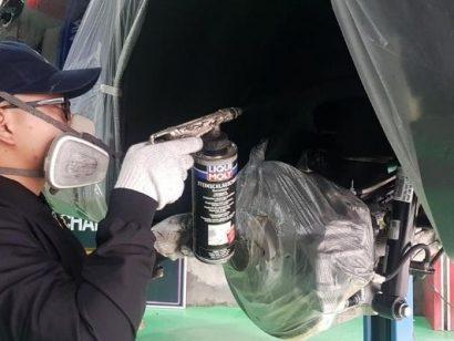 Sơn phủ gầm ô tô