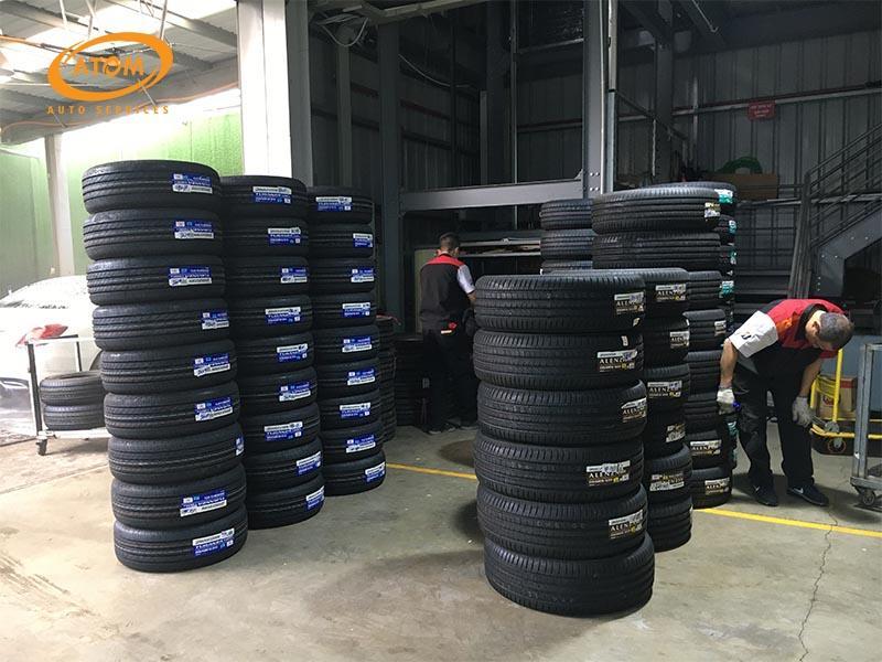 Thay lốp mới là sự lựa chọn an toàn nhất