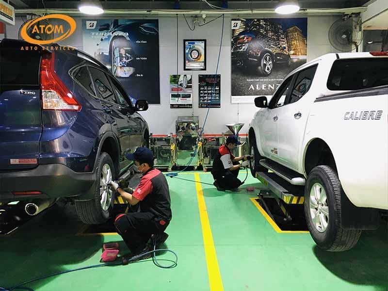 Dịch vụ cứu hộ lốp của Atom Auto Services được nhiều khách hàng tin tưởng và lựa chọn