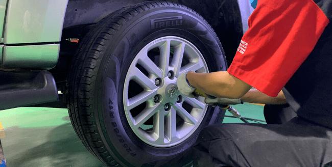 dịch vụ lốp ô tô