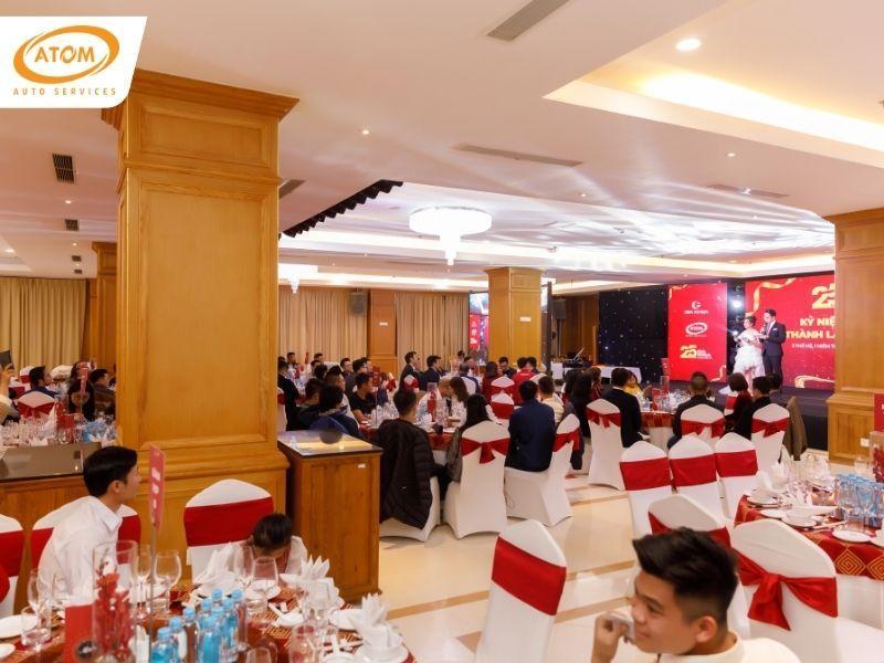 Sự kiện được tổ chức với sự tham gia của khách mời là các nhà phân phối lốp & ắc quy ô tô lớn tại Việt Nam