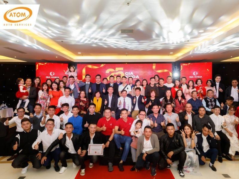 Lễ kỉ niệm 25 năm thành lập công ty Gia Khoa