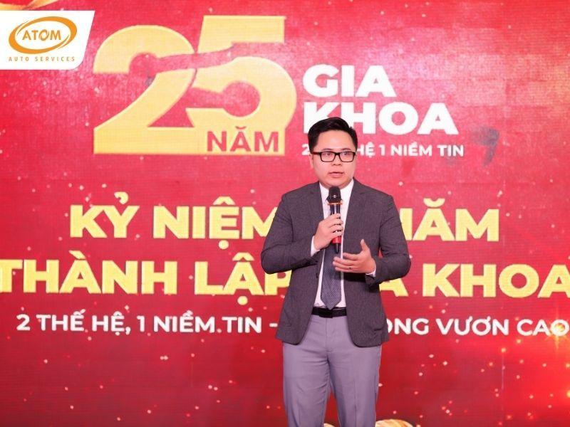 Anh Phạm Viết Trung - Giám đốc ATOM Auto Services., thế hệ thứ 2 tiếp nối triết ký kinh doanh của Gia Khoa cùng những bước tiến mới